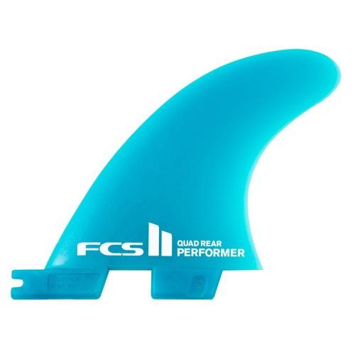 FCS II Performer Neo Glass Quad Rear Fins
