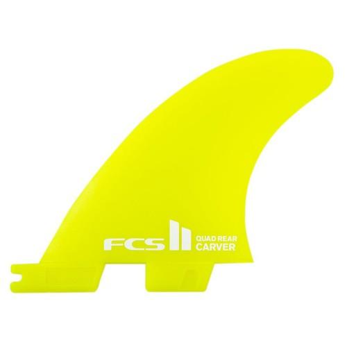 FCS II Carver Neo Glass Quad Rear Fins