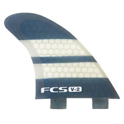 FCS V2 PC Quad Fins