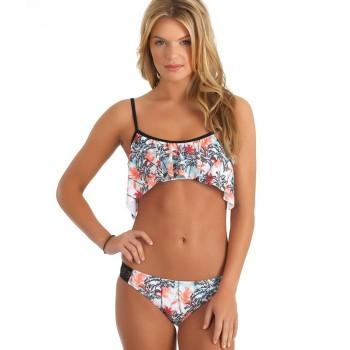 Ensemble Bikini Crop & Tab...