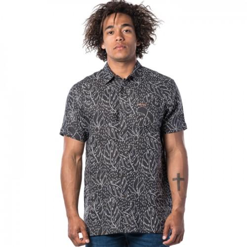 Chemise à manches courtes SWC Motif Linen