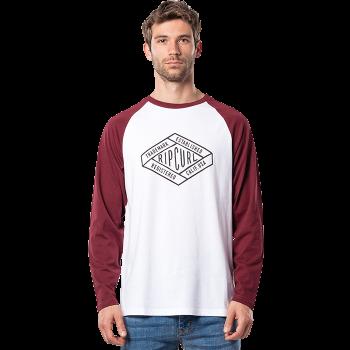T-shirt Retro Diamond Long...
