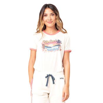 T-Shirt pour femme Tiki Ringer
