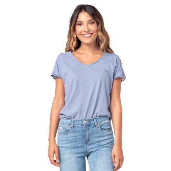 T-shirt Lovely col en V