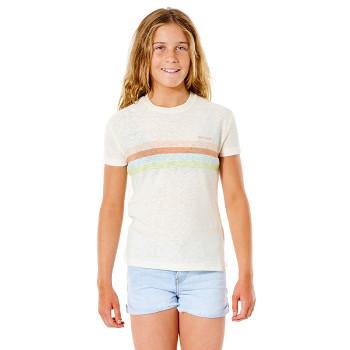 T-Shirt pour fille Twin Fin...