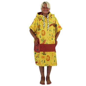 V Poncho Junior Yeti Yellow