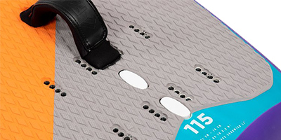 Multiple Footstrap options Stingray Foil LTD 2021