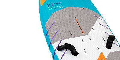 Rail de pied de mât extra long Stingray Foil LTD 2021