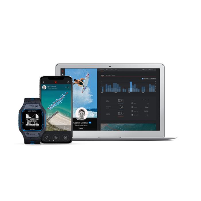 Search GPS 2 montre rip curl synchronisation avec smartphone et ordinateur
